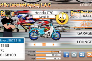 Download Game Drag racing bike edition mod Indonesia