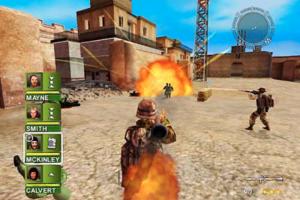 Download game gratis back to Baghdad Conflict Desert storm II komputer