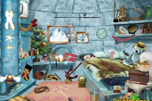Download Game Gratis Permainan Mencari Benda Tersembunyi di kamar rumah Cristmasville PC Offline