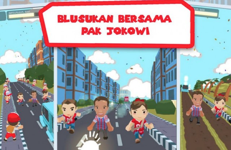 Download Game Petualangan Jokowi Blusukan Gratis