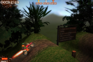 Download Super Motocross Deluxe game balapan motor cross Gratis untuk komputer
