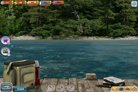 Description: Game memancing ikan di sungai