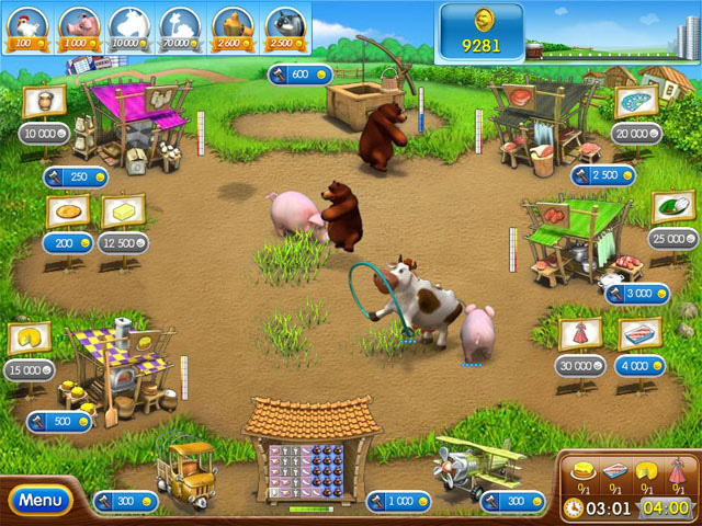 Description: Download game memelihara hewan ternak Farm Frenzy 2