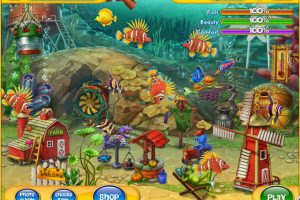 Download game simulasi memelihara ikan laut dan photo Fishdom 2 gratis
