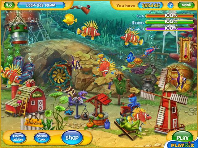 Description: download game memelihara ikan fishdom 2