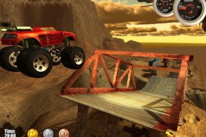 Download Game Balapan Mobil Pasir Atraksi Monster Truck Challenge