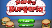 Download Game PC Ringan Latihan memasak membuat Burger dan Pizza: Papa's Burgeria