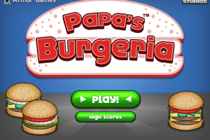 Download Game PC Ringan Latihan memasak membuat Burger dan Pizza: Papa's Burgeria