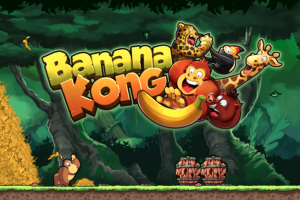 Download Game Petualangan Hewan Monyet Banana Kong untuk Android