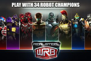 Download Game gratis Tinju robot android: Real Steel World Robot Boxing