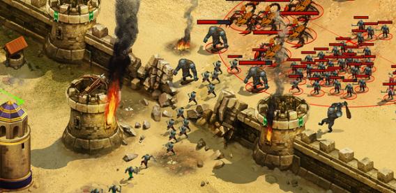 Download Game Membangun Kerajaan Perang Melawan Monster: Throne Rush