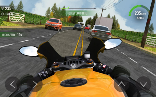 Download Game Balapan Motor Di Jalanan Android Moto Traffic Race 2